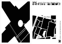 Cel del Barri Vell. Sèrie: Ocupació d'un espai, vuit cels del Barri Vell de Vic